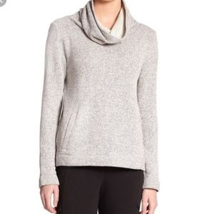 Eileen Fisher Cotton Cowl Neck Top Size Medium